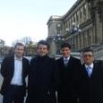 Avec Mathieu Barbot, Thierry Solère et Marc Haddad