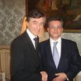 Avec Philippe Douste-Blazy