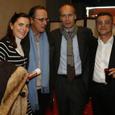 Avec les Getten et François Duparc