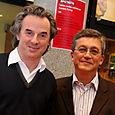 Avec Jean-Christophe Grangé