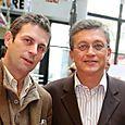 Avec Frédéric Taddéi