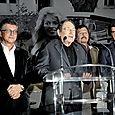 Avec Robert Hossein, Henry-Jean Servat et Tristan Duval