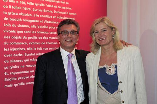 Avec Ségolène Missoffe, Maire-adjoint de Boulogne-Billancourt.