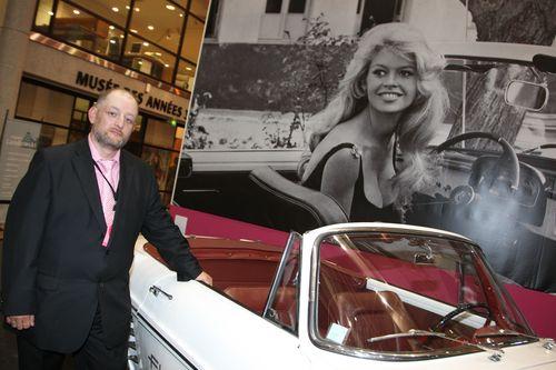 Bruno Ricard, fan, collectionneur... et l'un des instigateurs de l'expo.