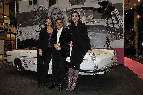 Avec Catherine Brice (Cartier) et la journaliste Véronique Guilpain Andrieu