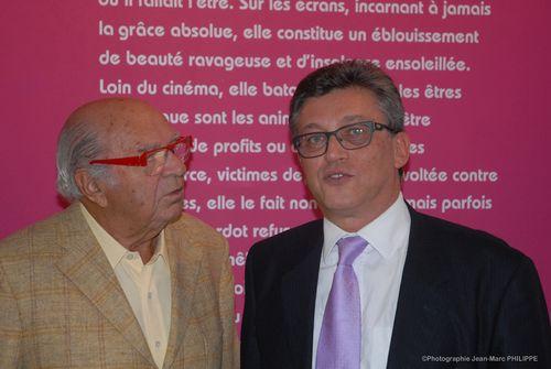 Avec Jacques Dessange.