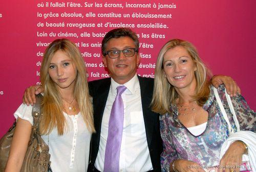Avec Servane et Stéphanie Fournier.
