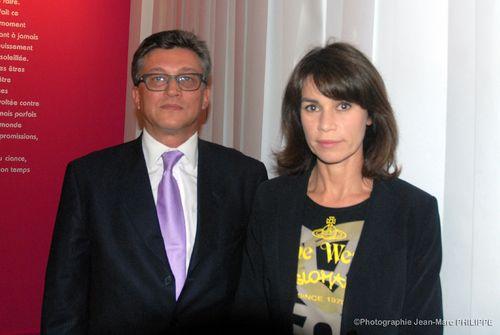 Avec Valérie Kaprisky.